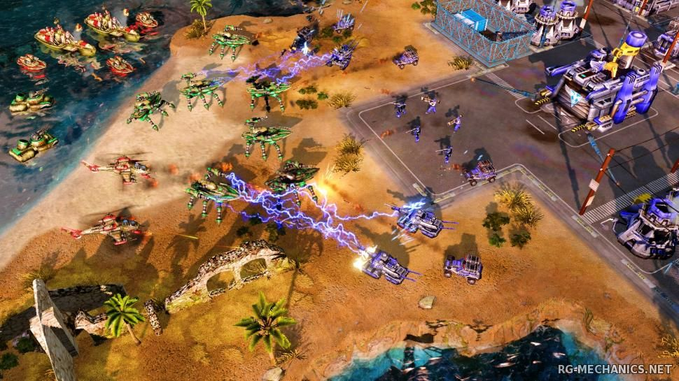 Скриншот к игре Command & Conquer: Red Alert 3 (2008) PC   RePack by Deep