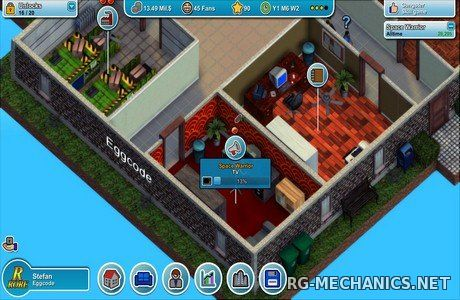 Скриншот 1 к игре Mad Games Tycoon [v0.160426A] (2015) PC | Repack