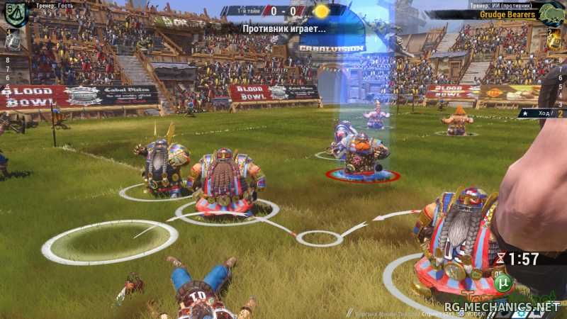 Скриншот к игре Blood Bowl 2 [v 2.1.22.26 + 3 DLC] (2015) PC | RePack от SpaceX