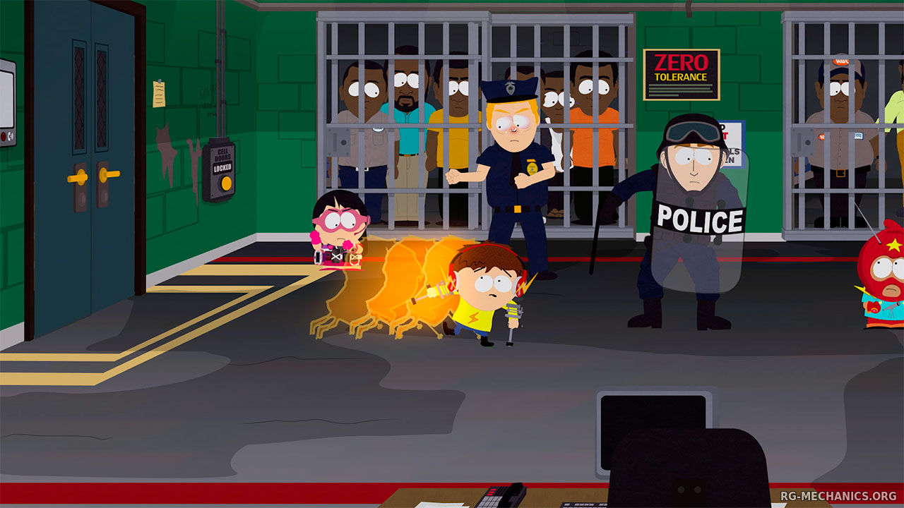 Скриншот к игре South Park: The Fractured But Whole - Gold Edition (2017) PC | Repack от R.G. Механики