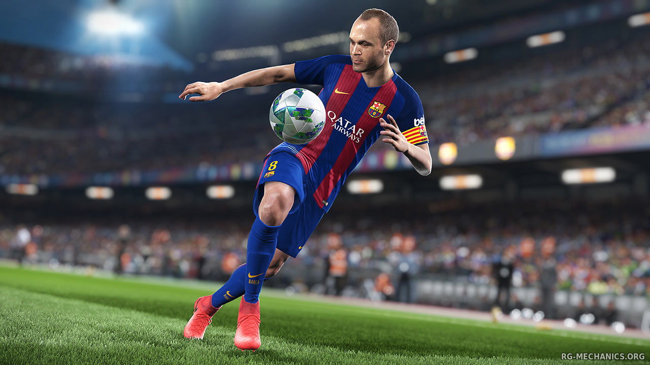 Скриншот 2 к игре PES 2018 / Pro Evolution Soccer 2018: FC Barcelona Edition (2017) PC | RePack от R.G. Механики