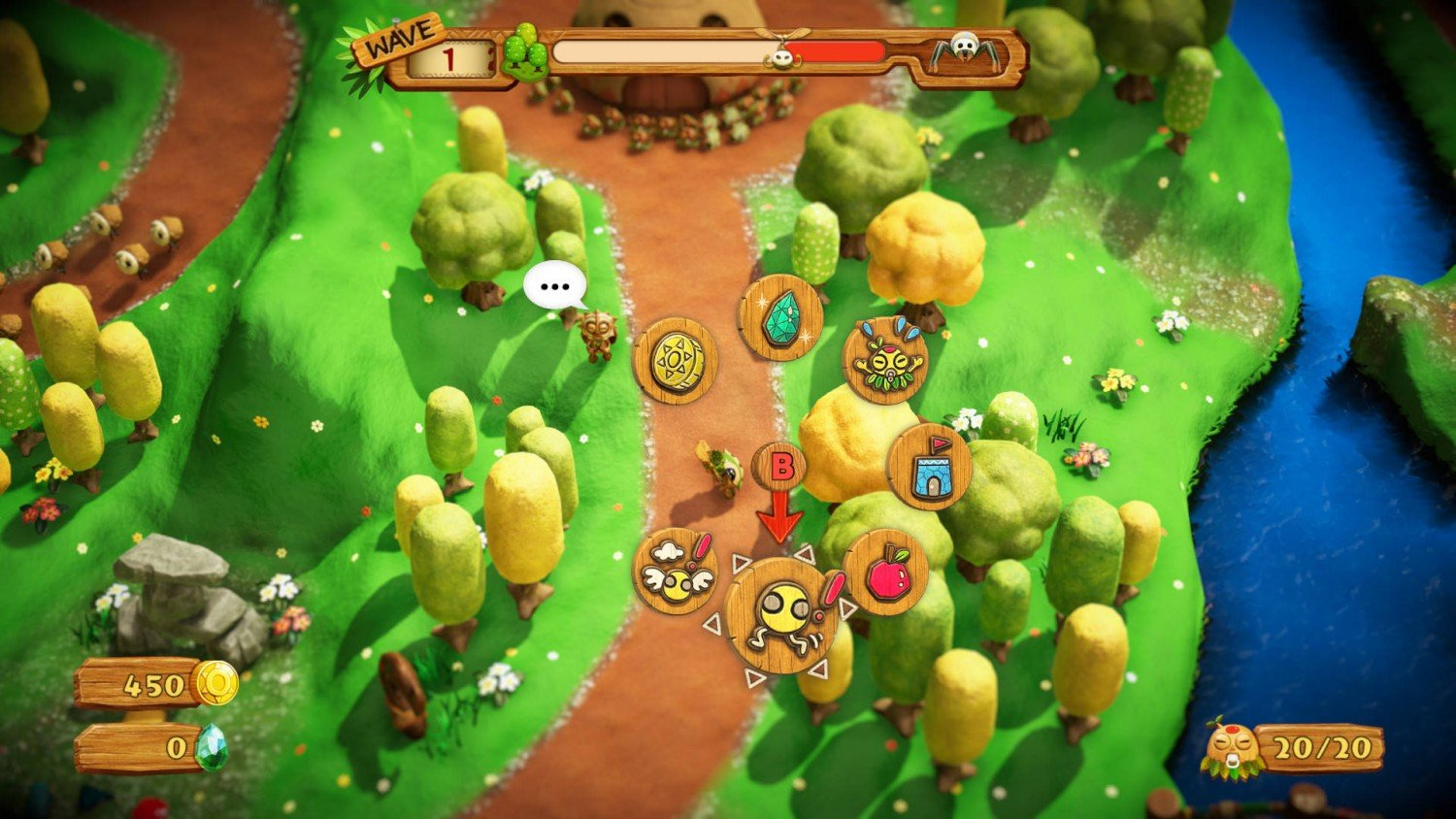 Скриншот 3 к игре PixelJunk Monsters 2 (2018) | Лицензия