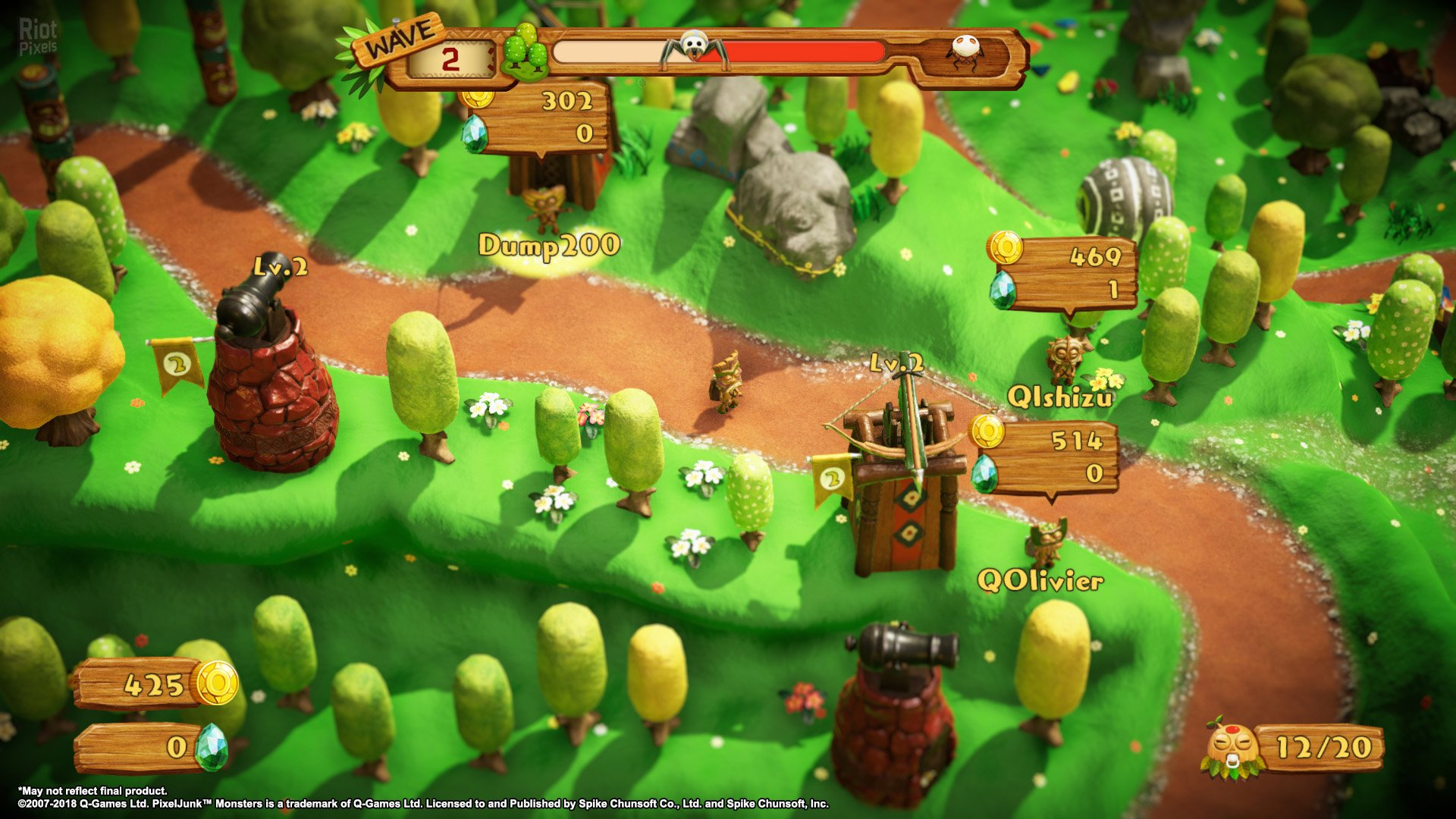 Скриншот 2 к игре PixelJunk Monsters 2 (2018) | Лицензия