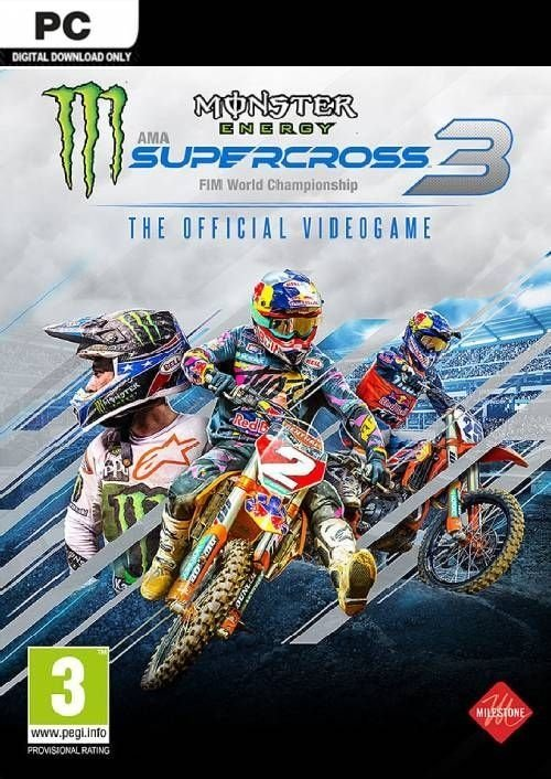 Monster Energy Supercross - The Official Videogame 3 (2020) (2020)
