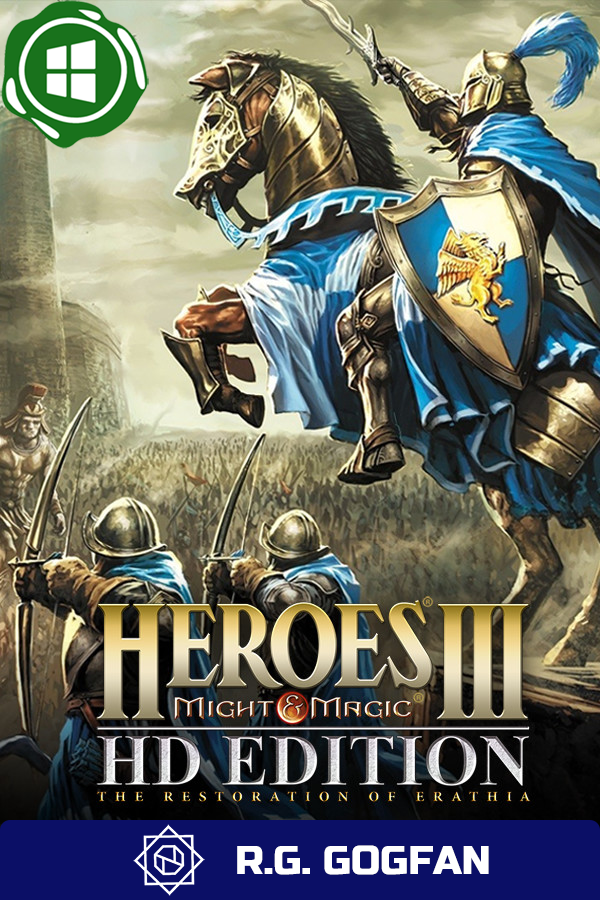 Heroes of Might and Magic 3 Complete [GOG   Windows] (ENG/RUS/MULTI4) от R.G. GOGFAN (1999)